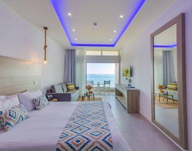 Double Sea View Hotel Rooms Larnaca
